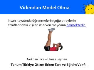 Videodan Model Olma