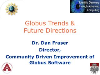 Globus Trends &  Future Directions