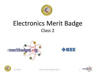 Electronics Merit Badge Class 2