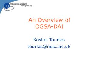 An Overview of OGSA-DAI