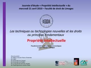 Les techniques ou technologies nouvelles et les droits ou principes fondamentaux