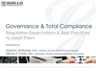 Governance & Total Compliance
