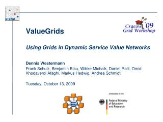 ValueGrids   Using Grids in Dynamic Service Value Networks