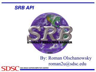 SRB API