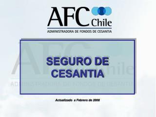 SEGURO DE CESANTIA