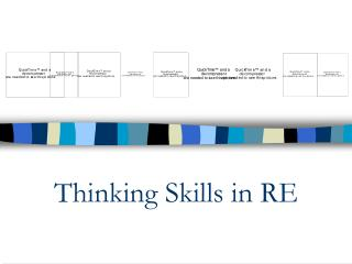 Thinking Skills in RE