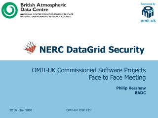 NERC DataGrid Security