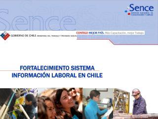 FORTALECIMIENTO SISTEMA INFORMACIÓN LABORAL EN CHILE