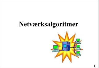 Netværksalgoritmer
