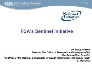 FDA's Sentinel Initiative