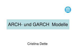 ARCH- und GARCH  Modelle
