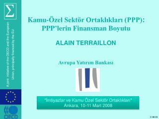 ALAIN TERRAILLON Avrupa Yatırım Bankası