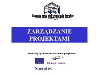 Materialy opracowane w ramach programu: