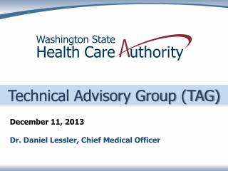 Technical Advisory Group (TAG)