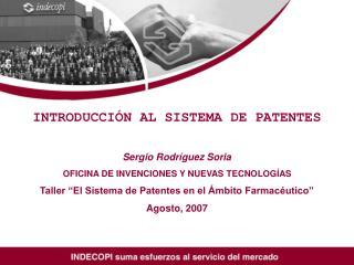 INTRODUCCIÓN AL SISTEMA DE PATENTES