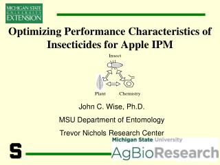 Optimizing Performance Characteristics of Insecticides for Apple IPM