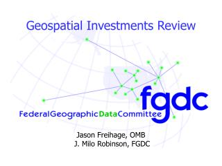 Geospatial Investments Review