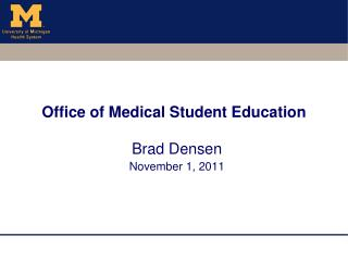 Office of Medical Student Education