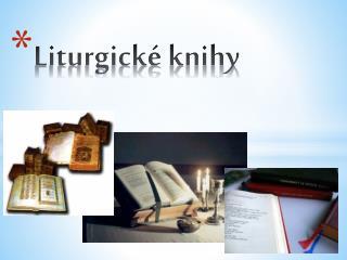 Liturgické knihy