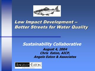 Low Impact Development -- Better Streets for Water Quality