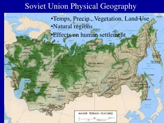 Soviet Union Physical Geography