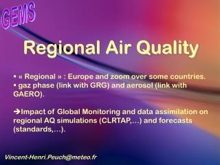 Regional Air Quality