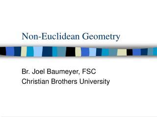 Non-Euclidean Geometry