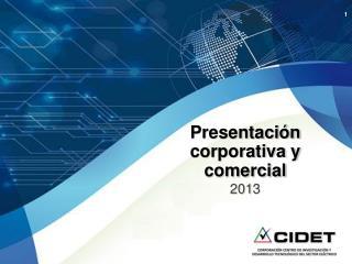 Presentación corporativa y comercial