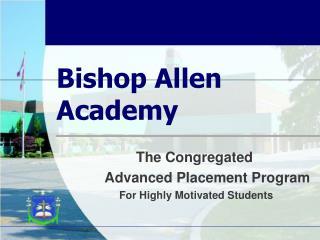 Bishop Allen Academy