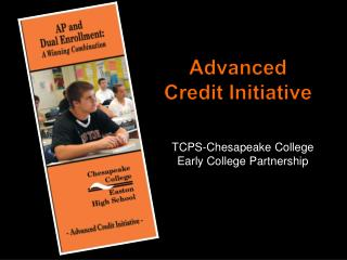 Advanced Credit Initiative