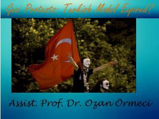 Assist. Prof. Dr. Ozan Örmeci