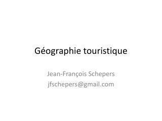 Géographie touristique