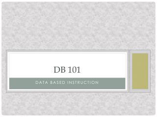DB 101