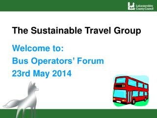 The Sustainable Travel Group
