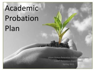 Academic Probation Plan