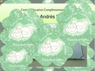 Centro Educativo Complementario N  801   Carlos Andr s Veneroni