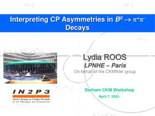 Interpreting CP asymmetries in