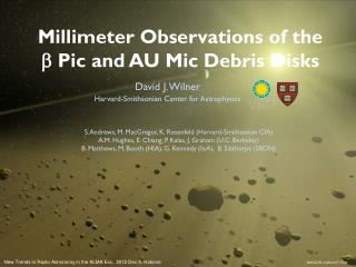 Millimeter Observations of the            b Pic  and AU  Mic  Debris Disks
