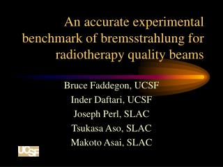 An accurate experimental benchmark of bremsstrahlung for radiotherapy quality beams