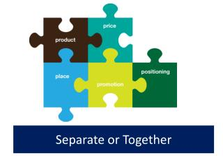 Separate or Together