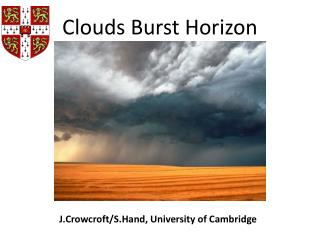 J.Crowcroft / S.Hand , University of Cambridge