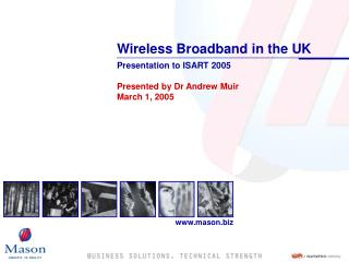 Wireless Broadband in the UK