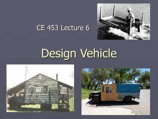 Design Vehicle