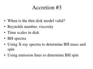 Accretion #3