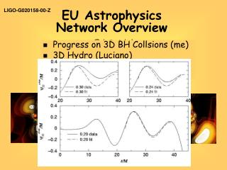 EU Astrophysics  Network Overview