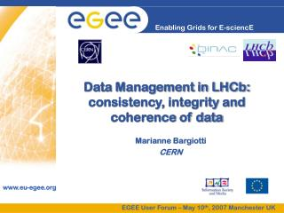 Data Management in LHCb: consistency, integrity and coherence of data