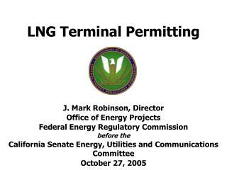 LNG Terminal Permitting