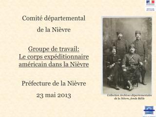 Comité départemental  de la Nièvre Groupe de travail:
