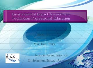 Environmental Impact Assessment Technician Professional Education