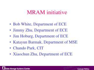 MRAM initiative
